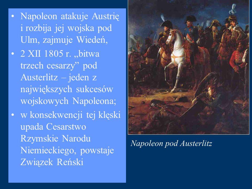 Napoleon pod Austerlitz