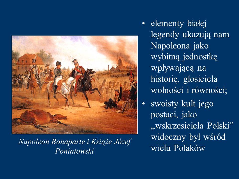 Napoleon Bonaparte i Książe Józef Poniatowski