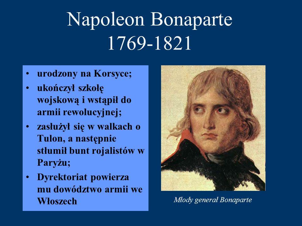 Młody generał Bonaparte