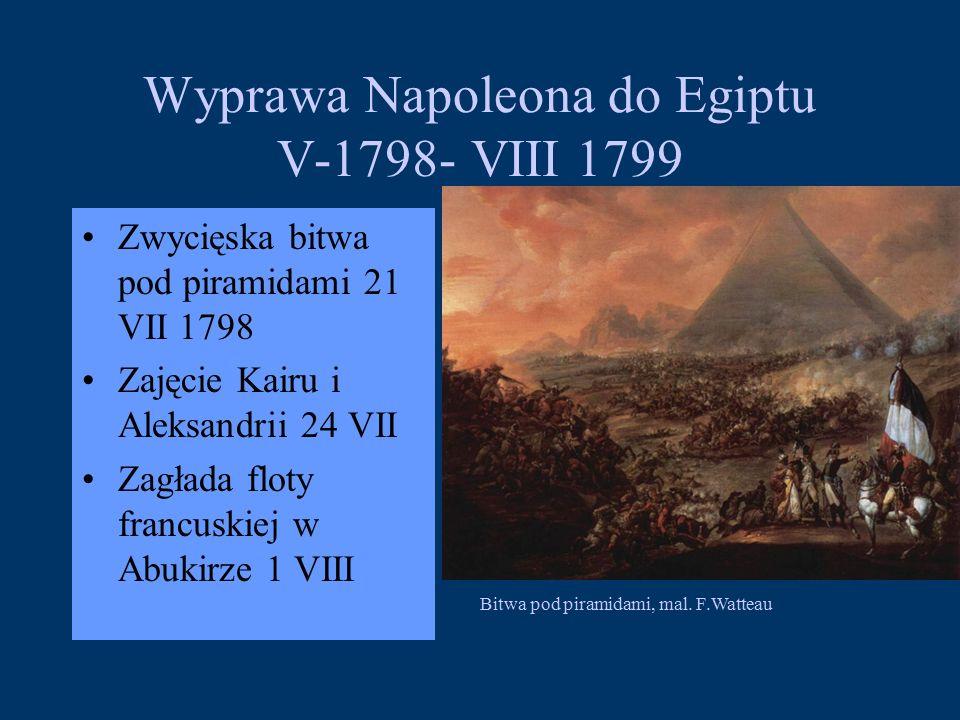 Wyprawa Napoleona do Egiptu V-1798- VIII 1799