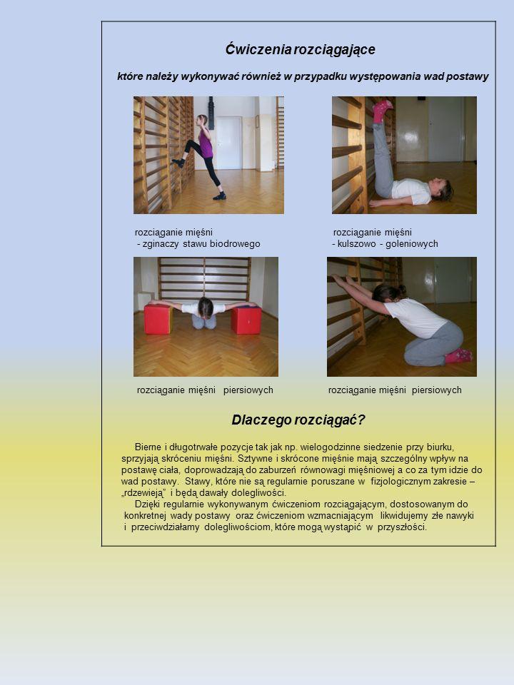 Ćwiczenia rozciągające Dlaczego rozciągać