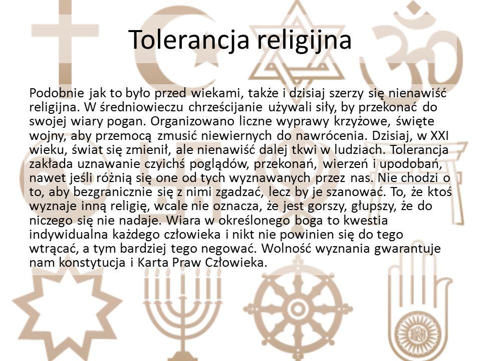 Tolerancja religijna