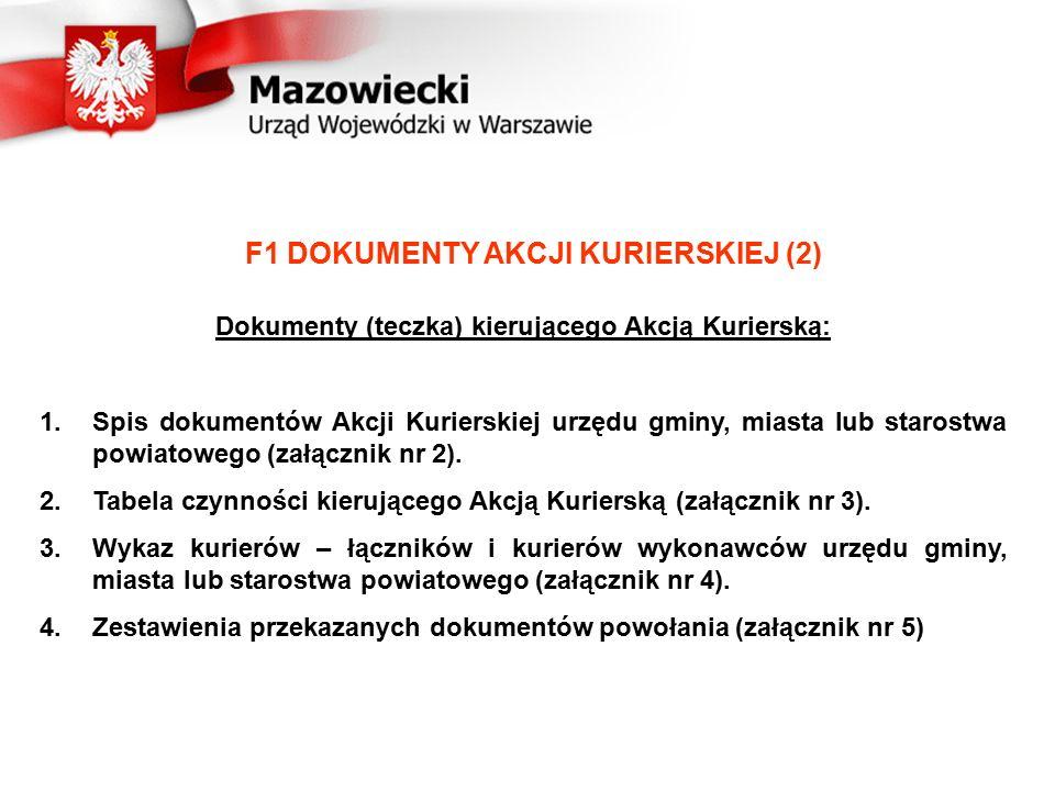 F1 DOKUMENTY AKCJI KURIERSKIEJ (2)
