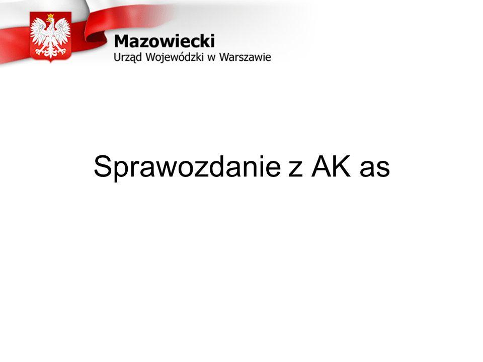 Sprawozdanie z AK as