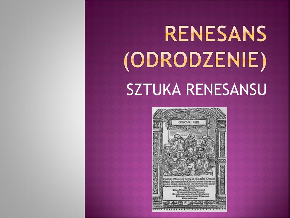 Renesans (odrodzenie)