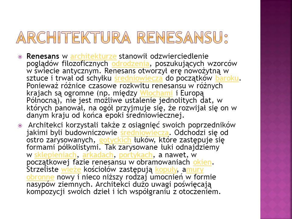 Architektura Renesansu: