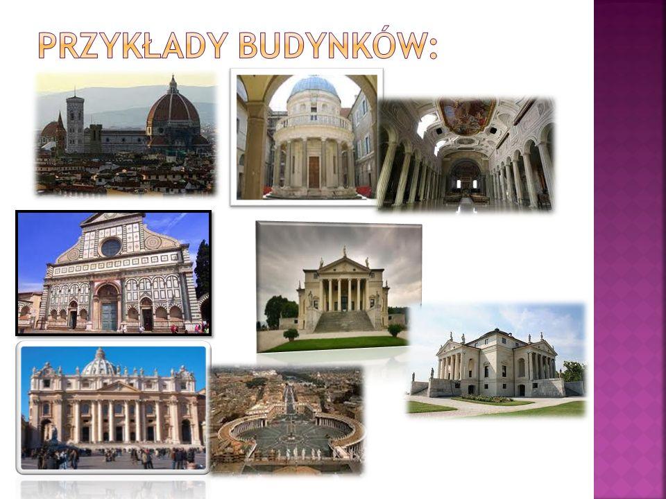 Przykłady budynków: