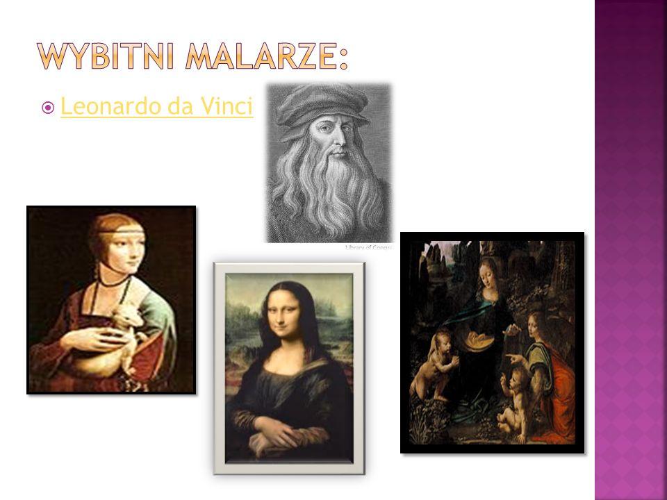 Wybitni malarze: Leonardo da Vinci