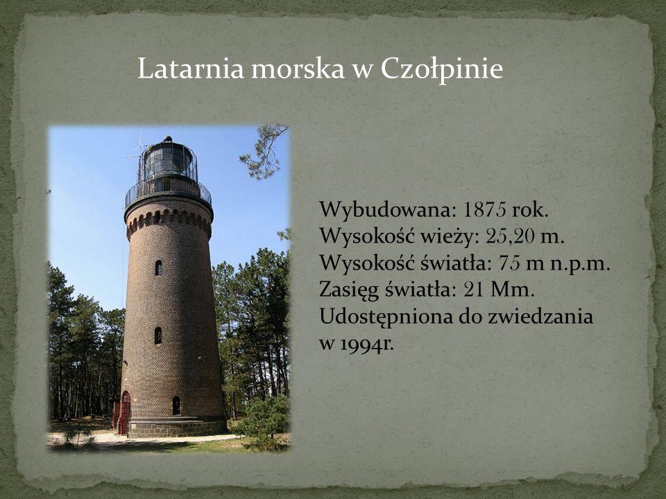 Latarnia morska w Czołpinie