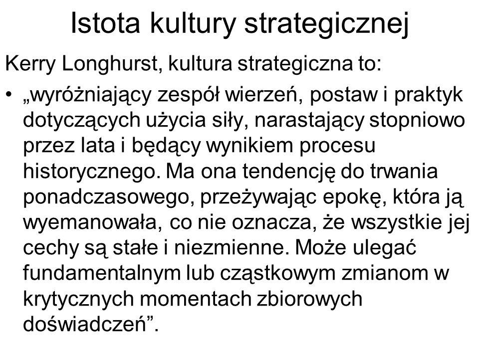 Istota kultury strategicznej
