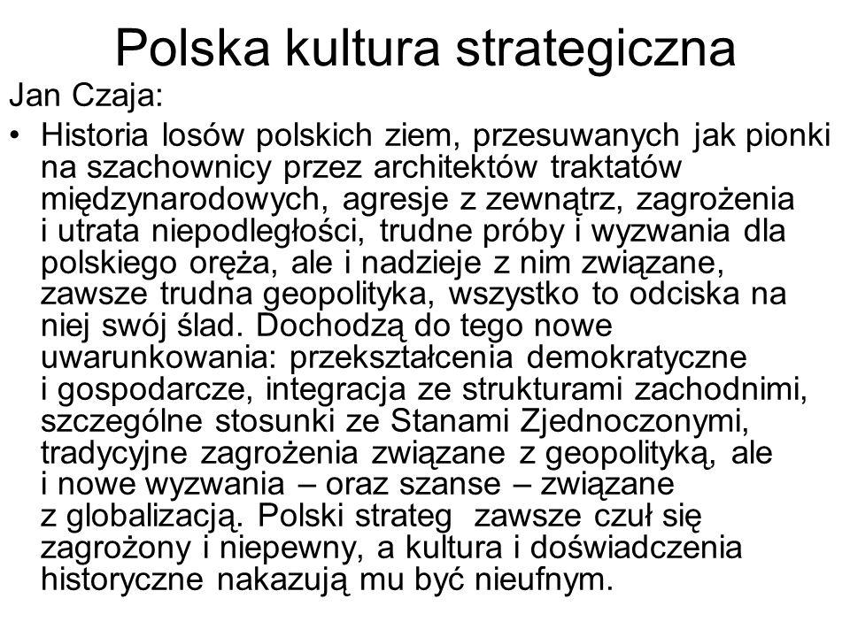 Polska kultura strategiczna