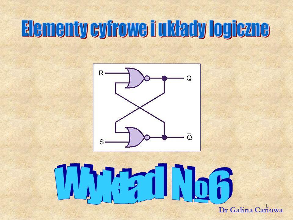 Elementy cyfrowe i układy logiczne