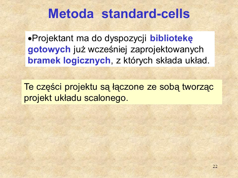Metoda standard-cells