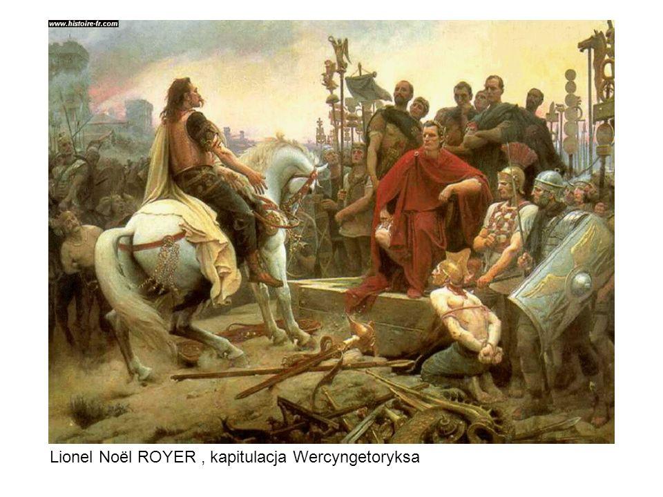 Lionel Noël ROYER , kapitulacja Wercyngetoryksa