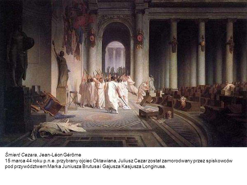 Śmierć Cezara, Jean-Léon Gérôme 15 marca 44 roku p. n. e