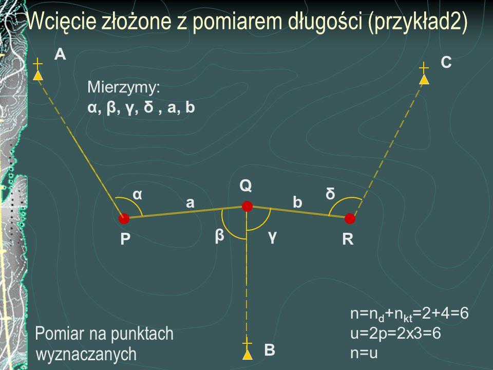 Wcięcie złożone z pomiarem długości (przykład2)