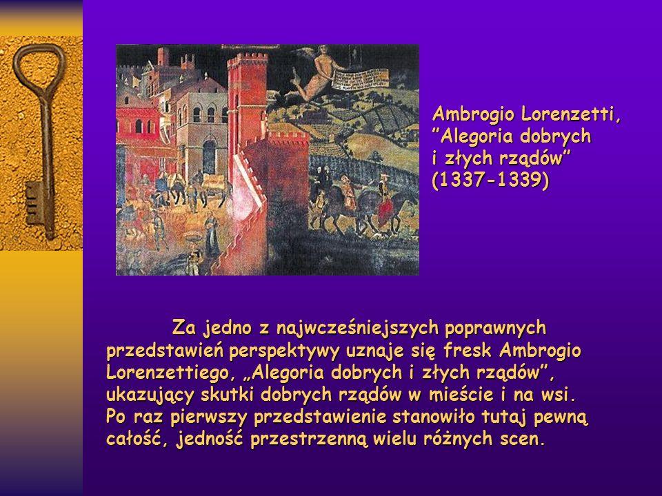 Ambrogio Lorenzetti, Alegoria dobrych i złych rządów (1337-1339)
