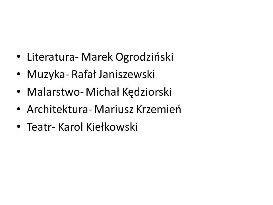 Literatura- Marek Ogrodziński