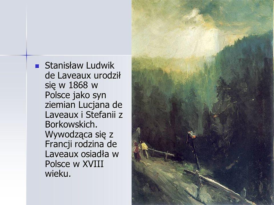 Stanisław Ludwik de Laveaux urodził się w 1868 w Polsce jako syn ziemian Lucjana de Laveaux i Stefanii z Borkowskich.