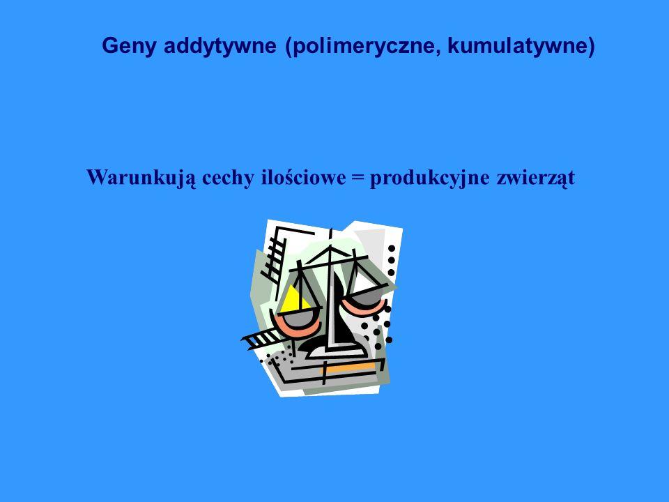 Geny addytywne (polimeryczne, kumulatywne)