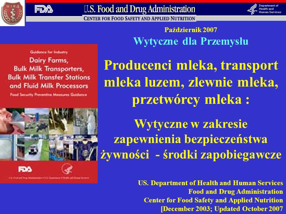 zapewnienia bezpieczeństwa żywności - środki zapobiegawcze