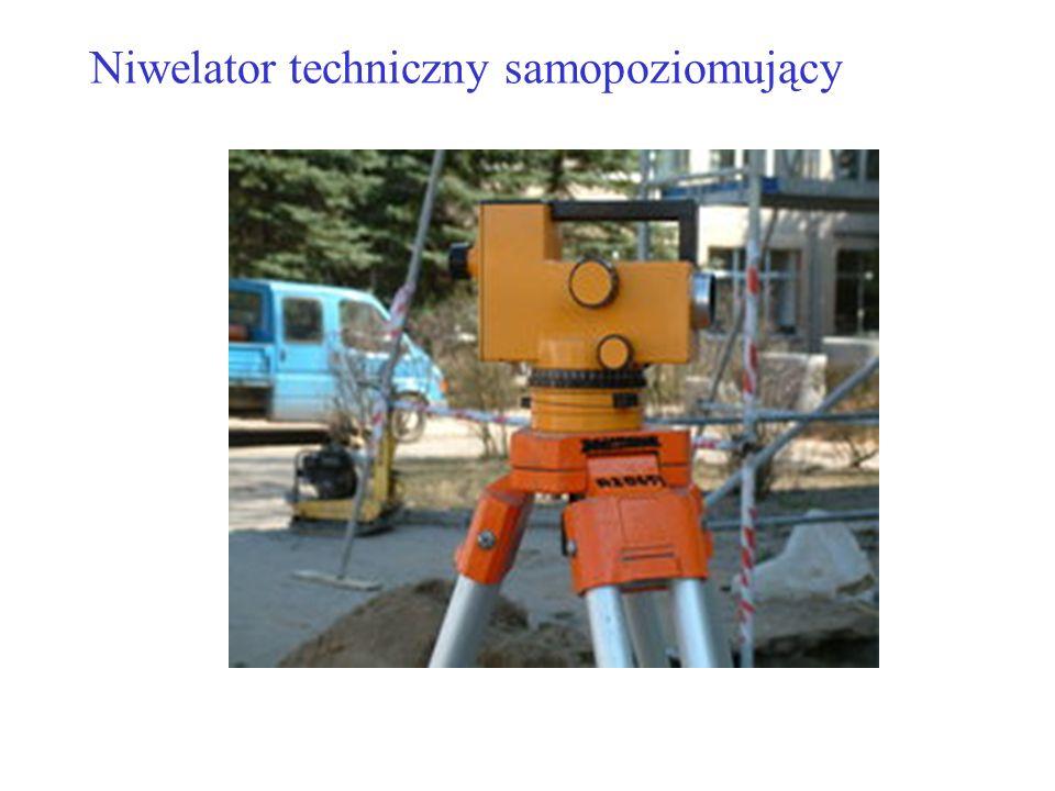 Niwelator techniczny samopoziomujący