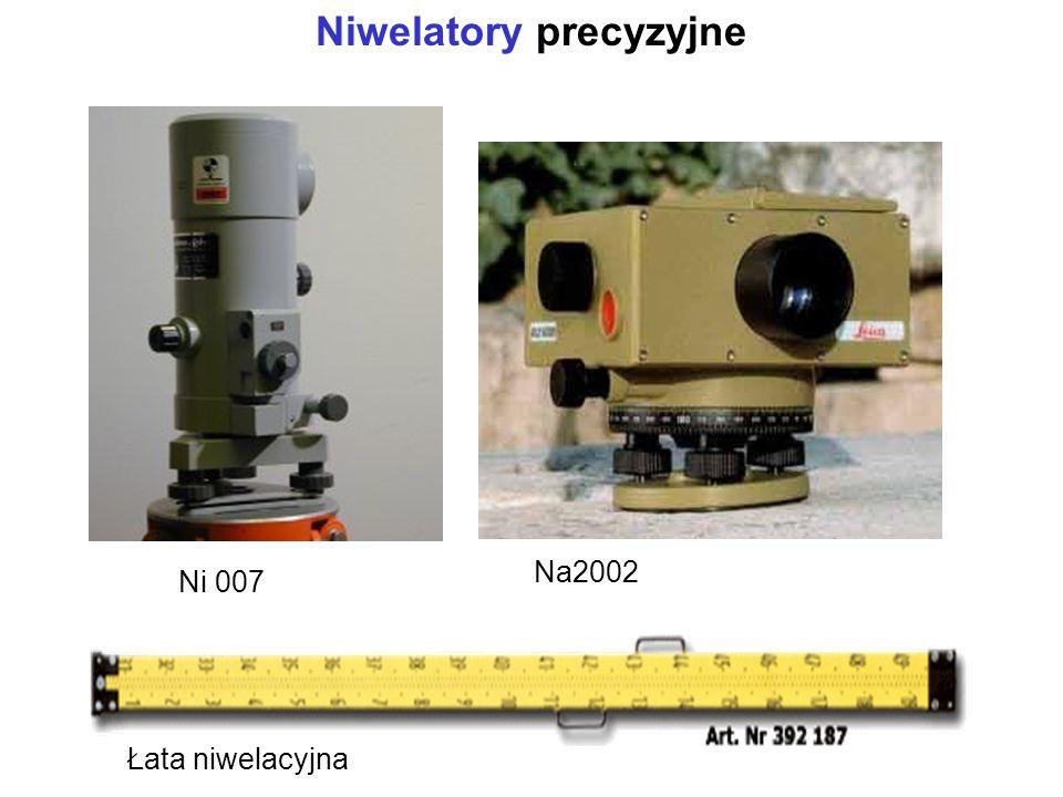 Niwelatory precyzyjne
