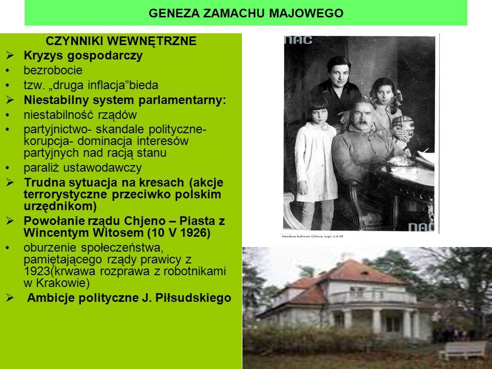 GENEZA ZAMACHU MAJOWEGO