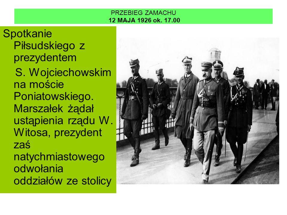 PRZEBIEG ZAMACHU 12 MAJA 1926 ok. 17.00