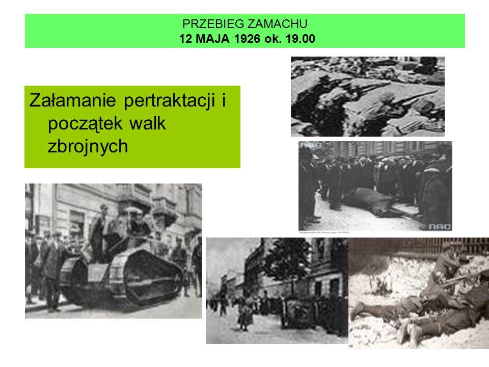 PRZEBIEG ZAMACHU 12 MAJA 1926 ok. 19.00