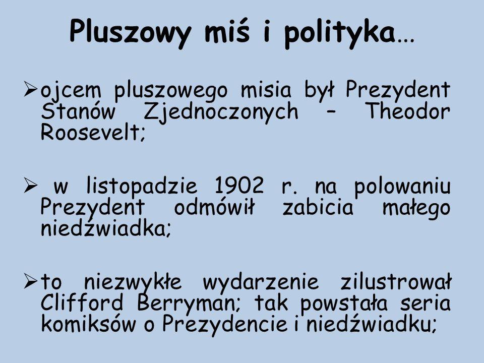 Pluszowy miś i polityka…