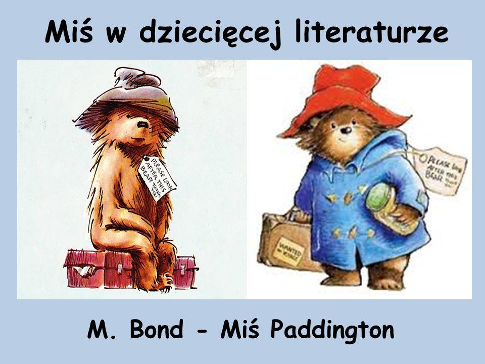 Miś w dziecięcej literaturze