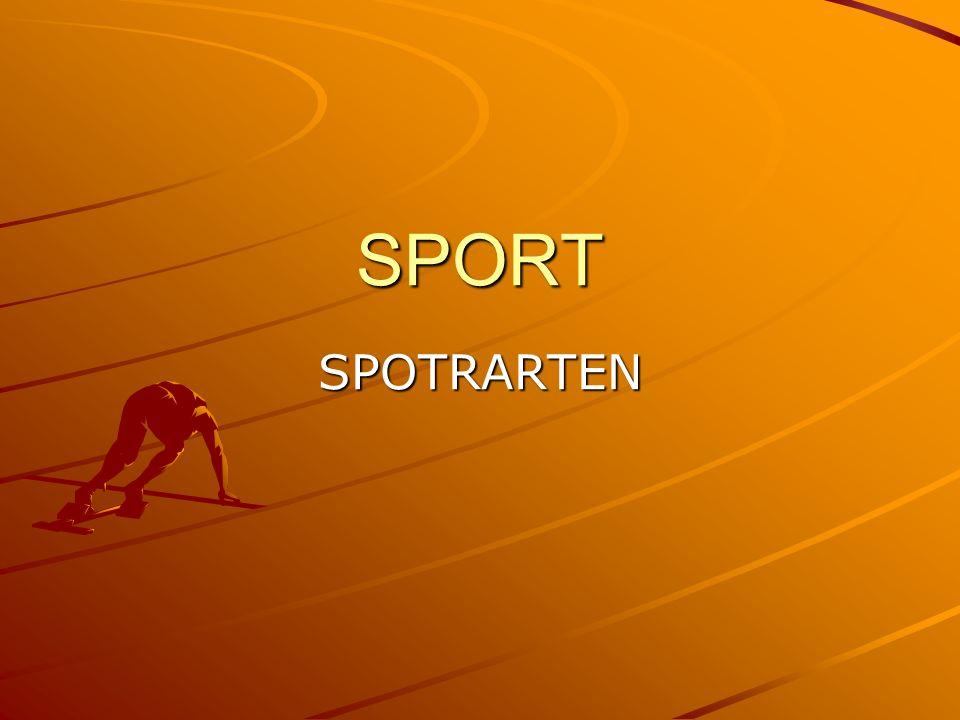 SPORT SPOTRARTEN