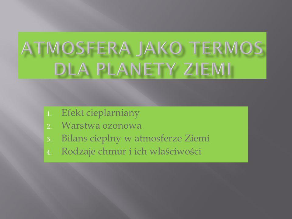 Atmosfera jako termos dla planety Ziemi