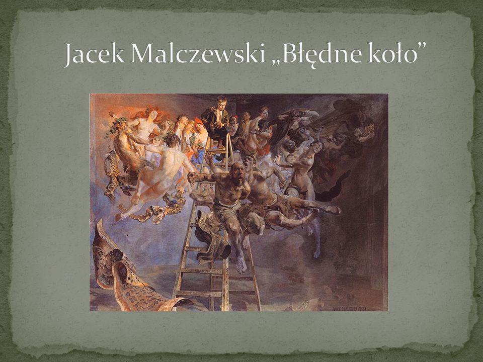 """Jacek Malczewski """"Błędne koło"""
