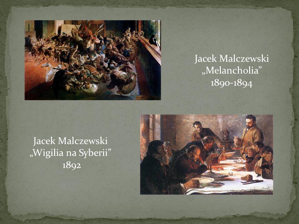 """Jacek Malczewski """"Wigilia na Syberii"""