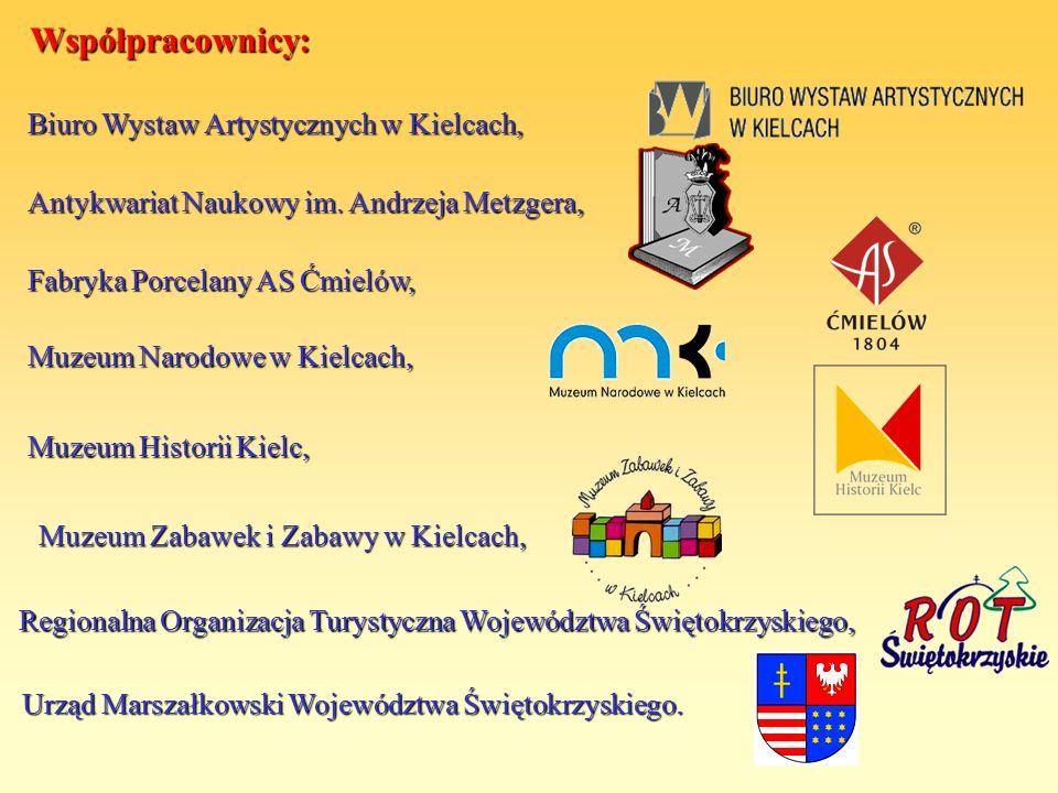 Współpracownicy: Biuro Wystaw Artystycznych w Kielcach,