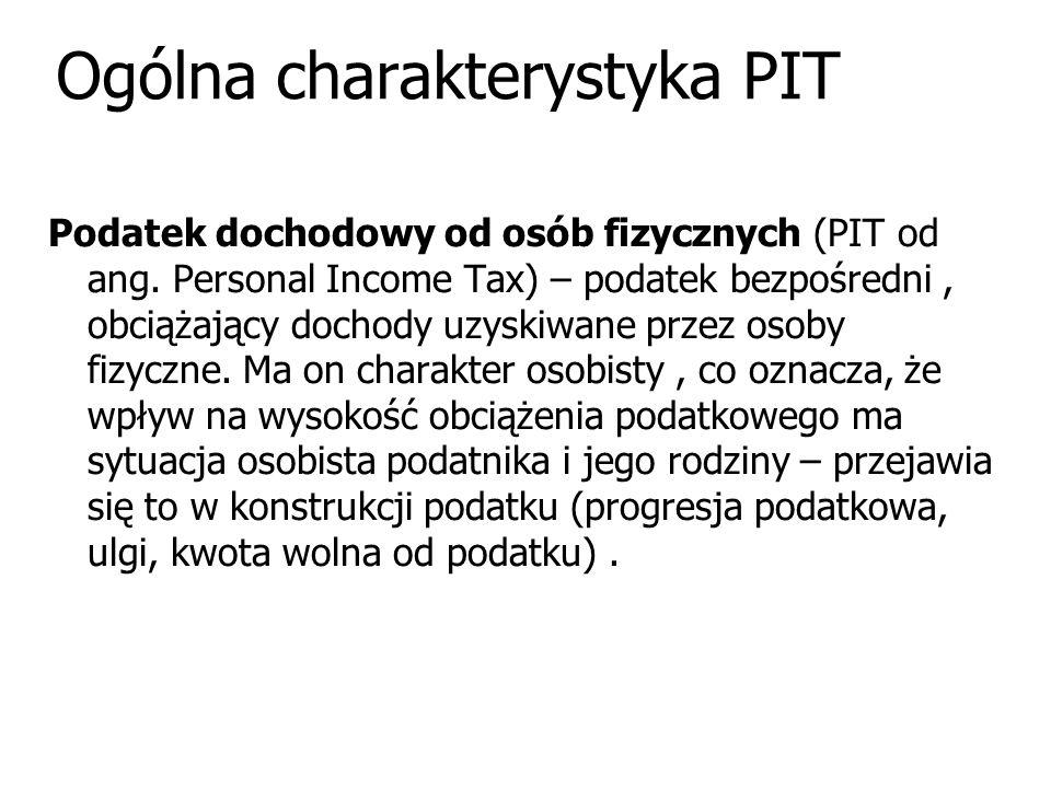 Ogólna charakterystyka PIT