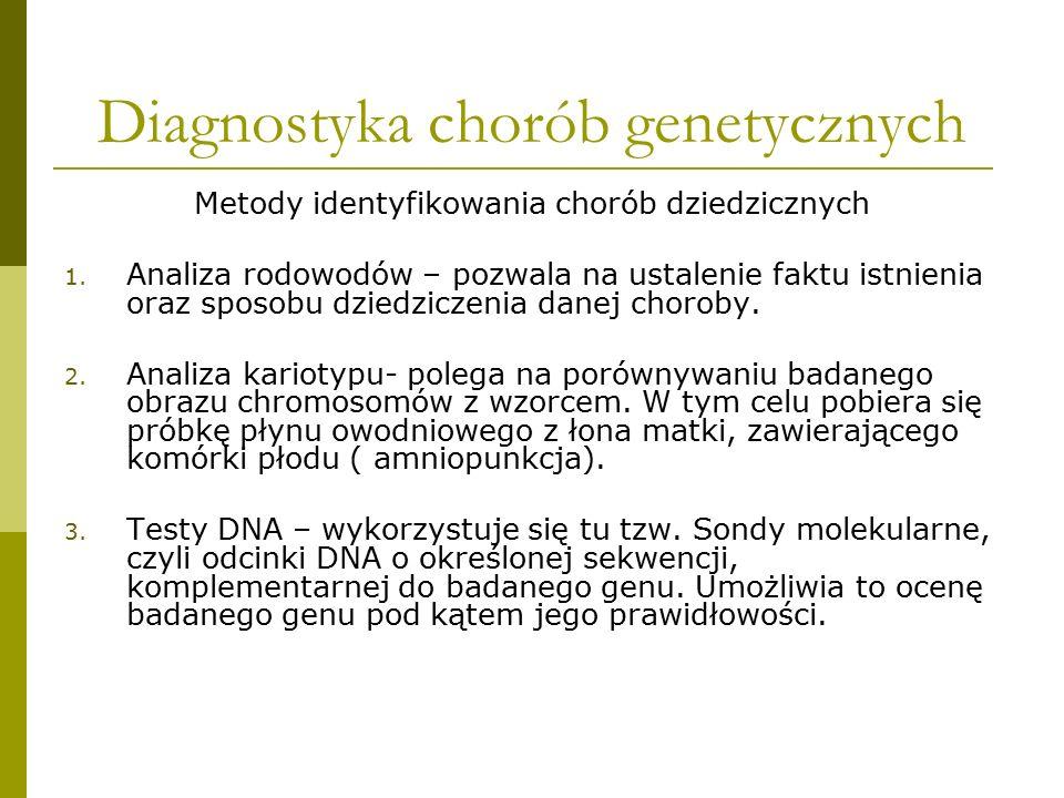 Diagnostyka chorób genetycznych