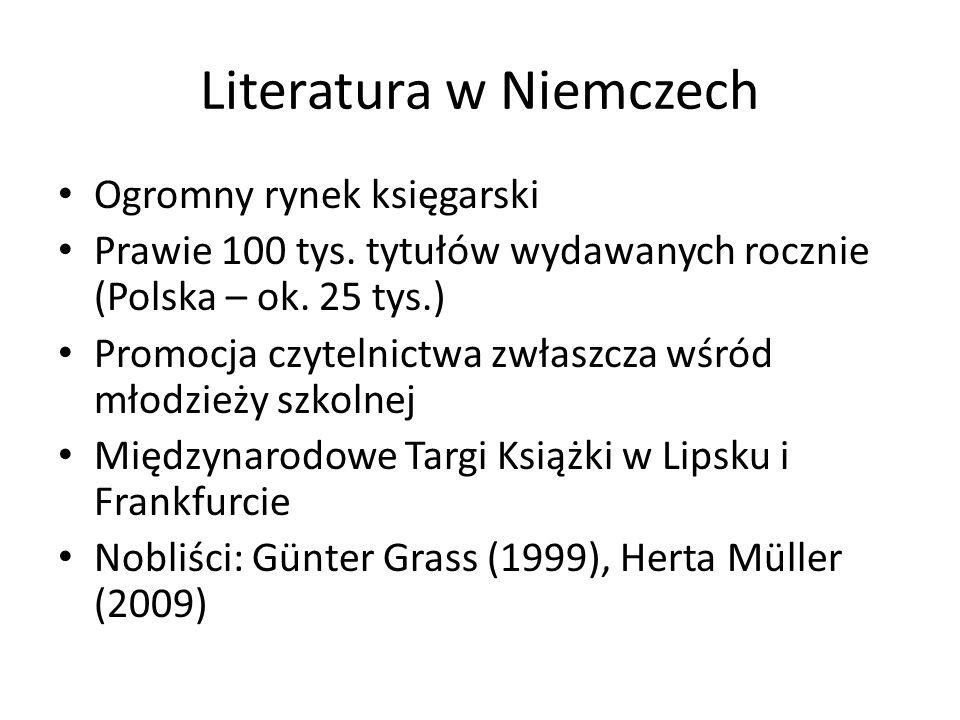 Literatura w Niemczech