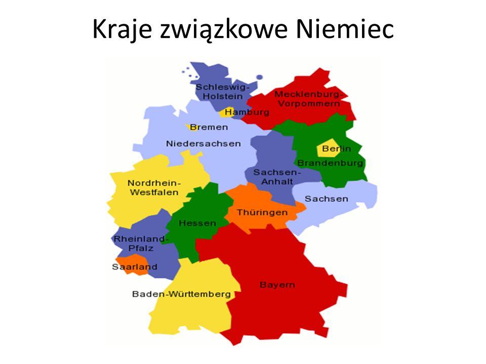 Kraje związkowe Niemiec