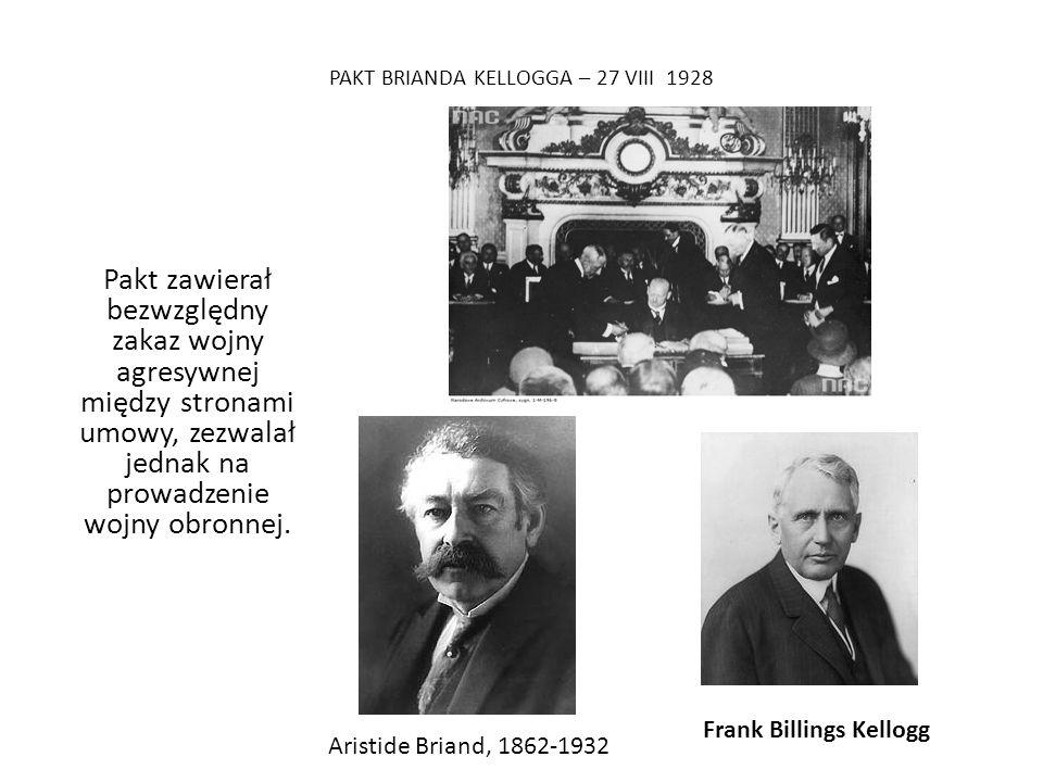 PAKT BRIANDA KELLOGGA – 27 VIII 1928