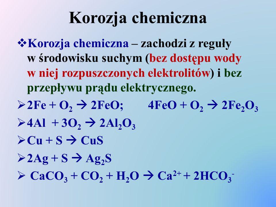Korozja chemiczna