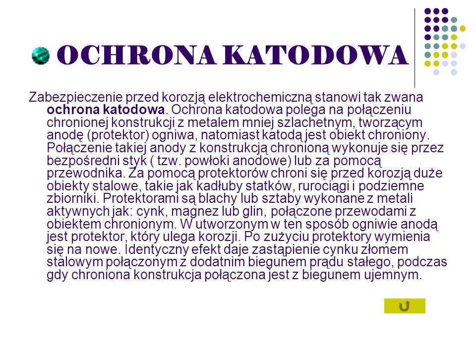 OCHRONA KATODOWA