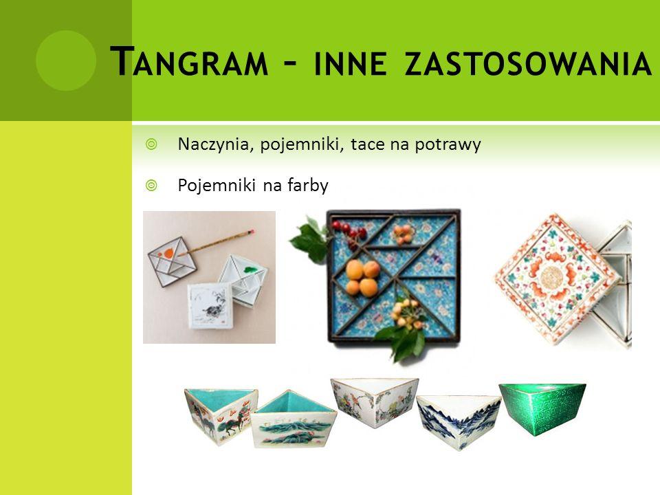 Tangram – inne zastosowania
