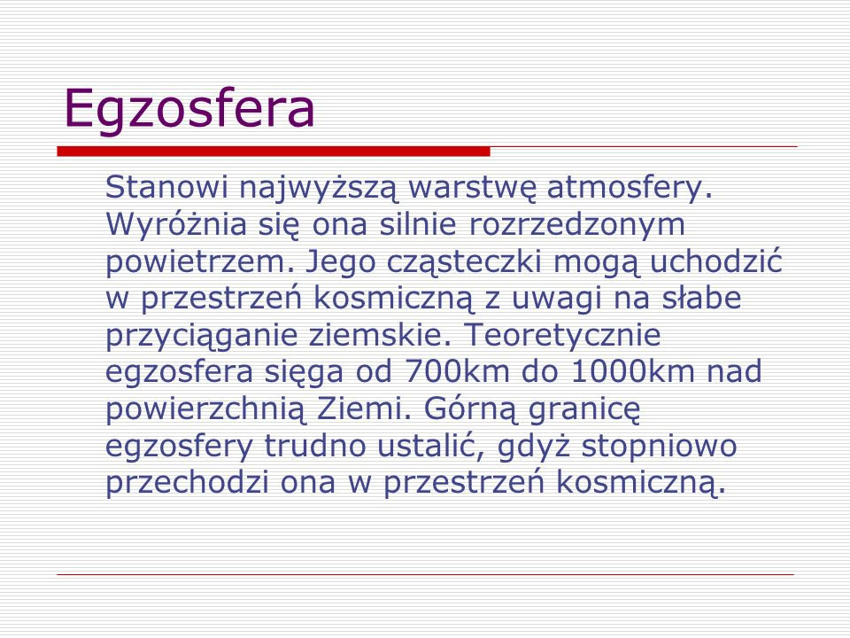 Egzosfera