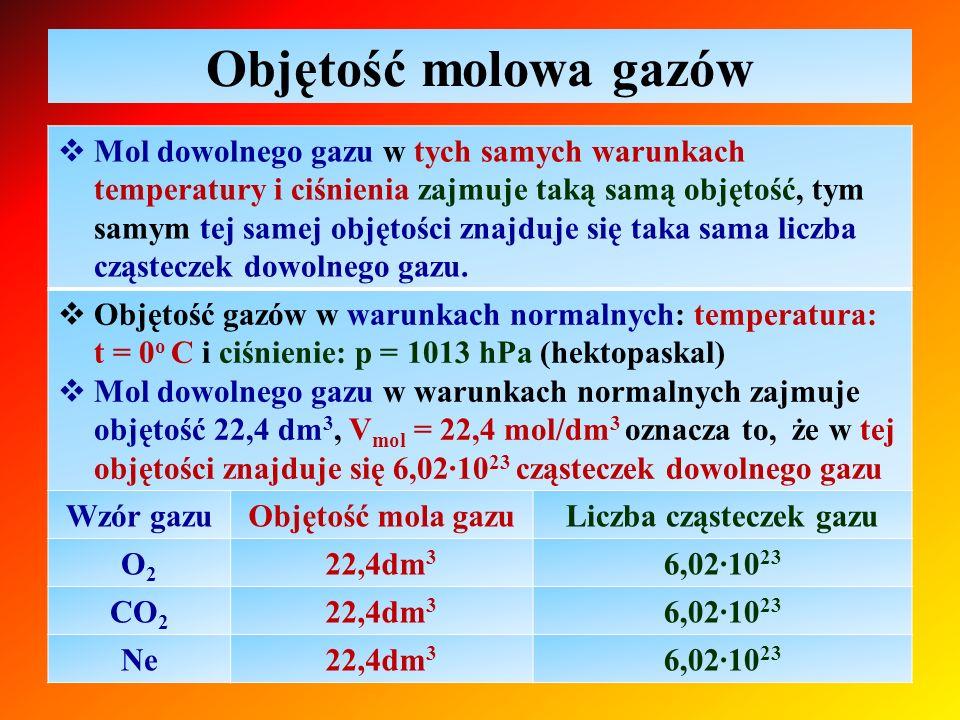 Liczba cząsteczek gazu