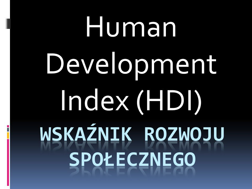 Wskaźnik rozwoju społecznego
