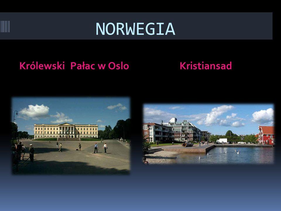 NORWEGIA Królewski Pałac w Oslo Kristiansad
