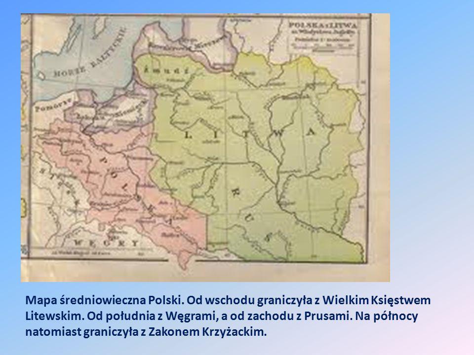 Mapa średniowieczna Polski